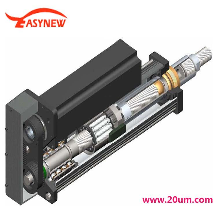 电动推杆与电动缸的区别,主要是电机连接不一样