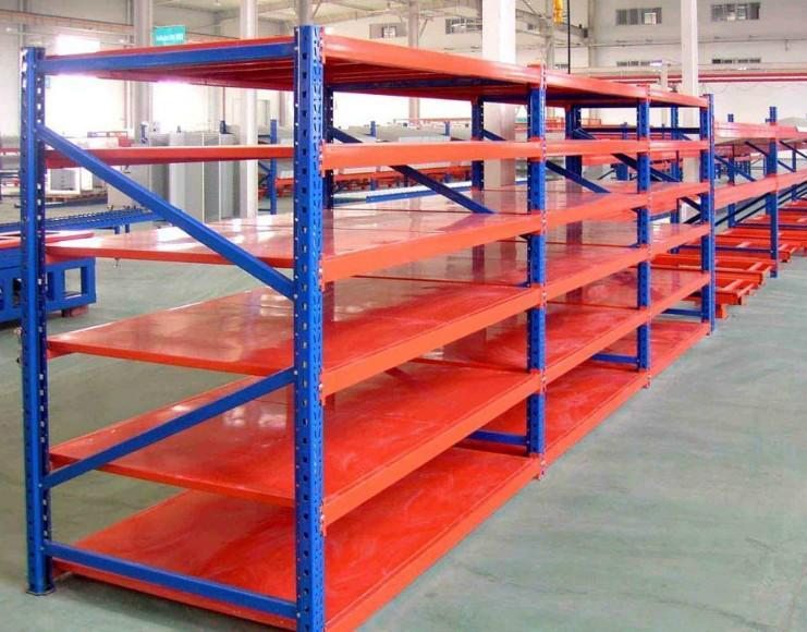 隔板货架、佛山仓储货架价格,钢板货架生产厂家