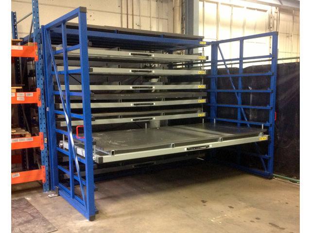卧式板材货架,立式板材式货架供应商