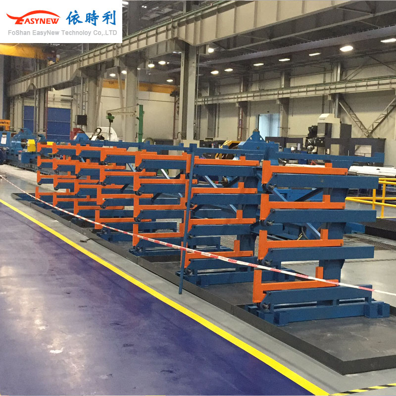上海青浦出口加工区大型货架,管材货架悬臂货架