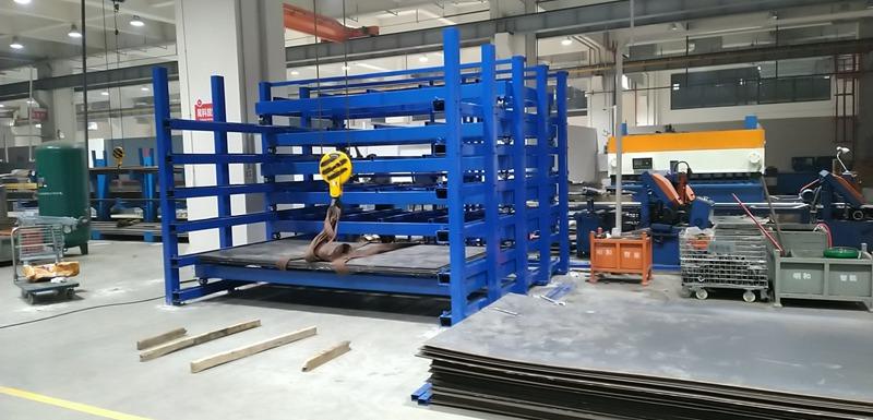 抽屉式板材货架客户案例,2021工厂直供