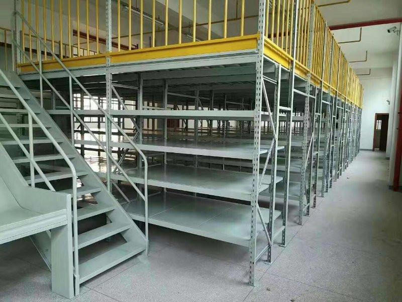 2021东莞江门深圳仓储阁楼货架,两层货架定做和报价