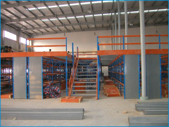 供应2021重型阁楼,1.5吨每平方阁楼,工字钢阁楼平台