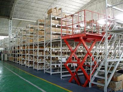 楼层仓储阁楼货架平台定制,全国上门测量报价